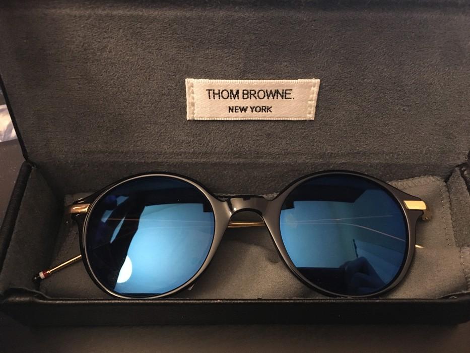 076dde9e5a8 Thom Browne Thom Browne sunglasses TB 708 Size one size - Sunglasses ...