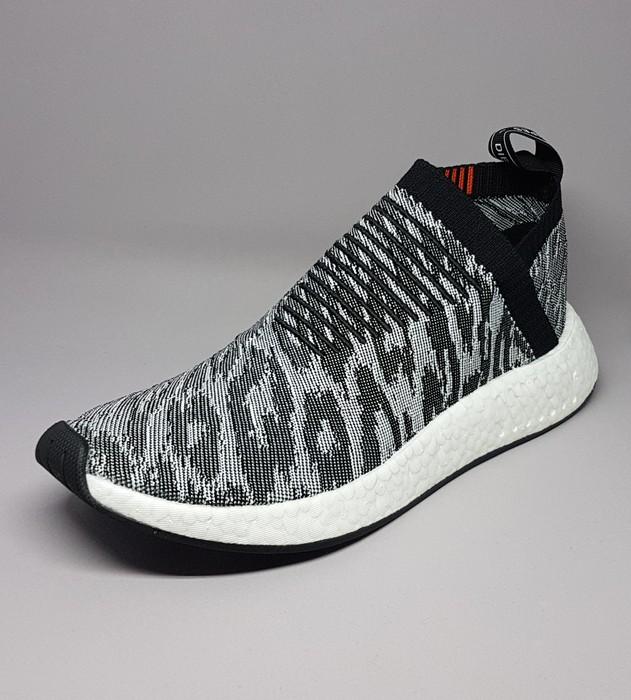028a5577f47ee Adidas BZ0515 Adidas NMD CS2 Primeknit Grey   Black   Red Size 9 ...