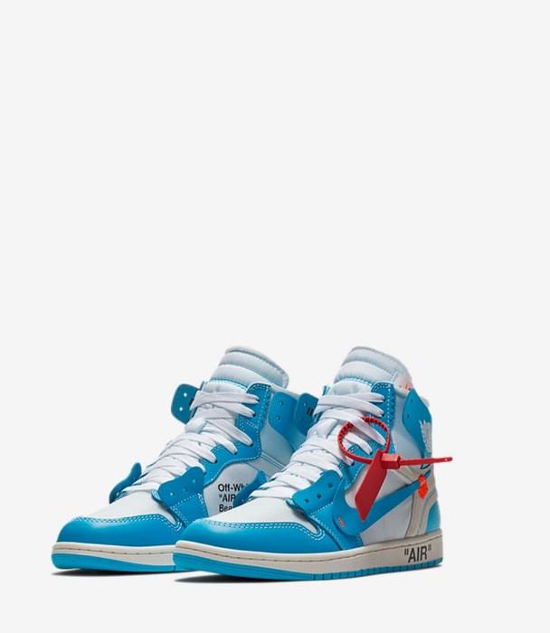 ac2d31af247c78 Nike Air Jordan 1 x Off White   UNC   Size 7 - Hi-Top Sneakers for ...
