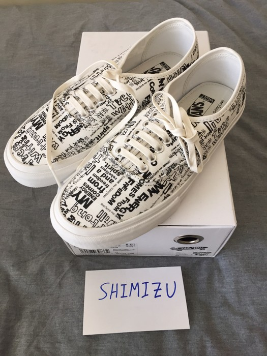 4c2599ca2c Vans Comme Des Garcons Vans Authentic LX CDG Size 8 - Low-Top ...