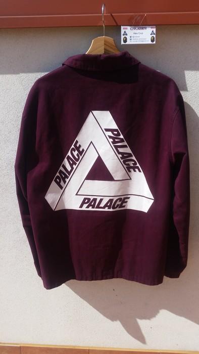 b1f4f391ec6c Palace Palace Skateboards Tri-Ferg Coach Jacket Burgundy (L) Size US L