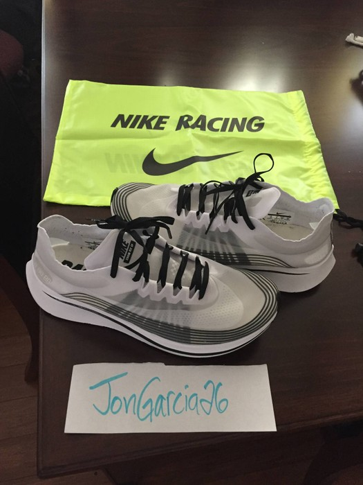 f7bccc53a6ae Nike Nikelab Zoom Fly SP - White Black Oreo Size 10 - Low-Top ...