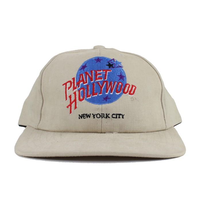 65b66043c8c Vintage Vintage 1990s Planet Hollywood New York City Adjustable Strapback Hat  Cap Made in USA Size