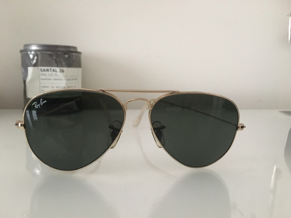 20c96d234163 RayBan Ray Ban Aviators Sunglasses Small Frame Size one size ...