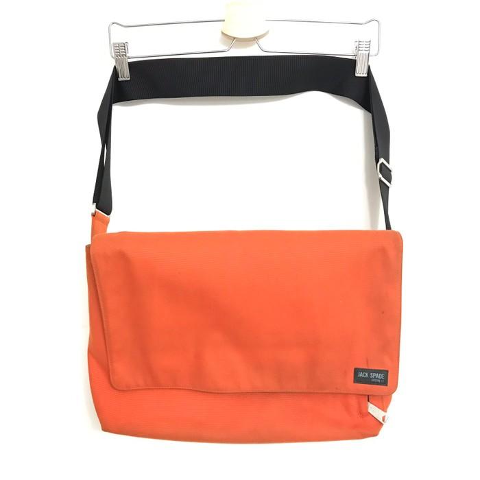 b43d58735f98 Jack Spade Safety Orange Canvas Messenger Bag Size one size - Bags ...