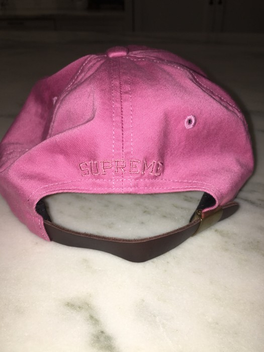 8b5c550ad97 Supreme Supreme Tonal S Logo 6 Panel Hat Bright Rose Pink Size ONE SIZE - 1