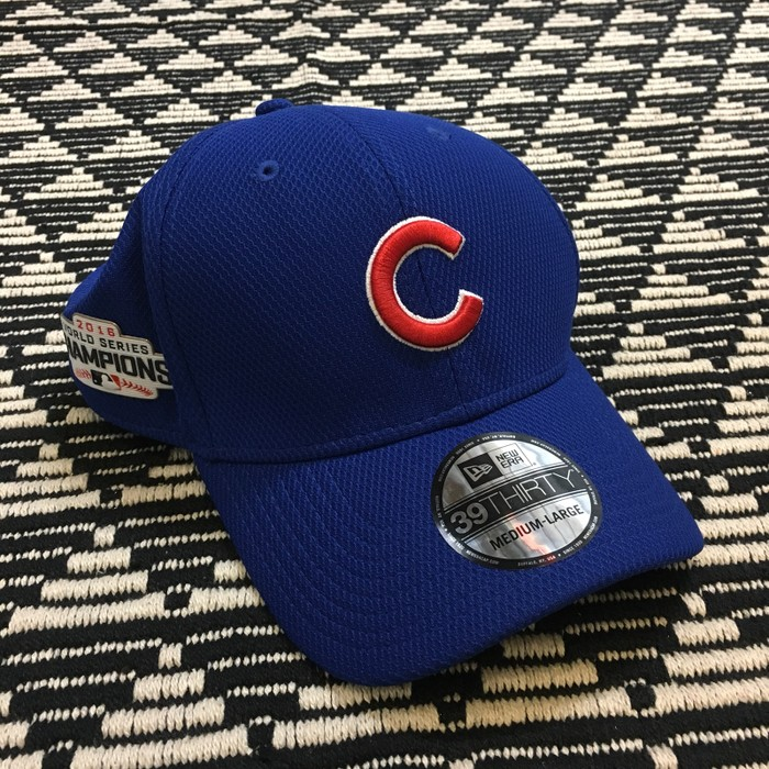 3fbfb0eed33 New Era Chicago Cubs Official 2016 World Series Champions Hat Size ONE SIZE