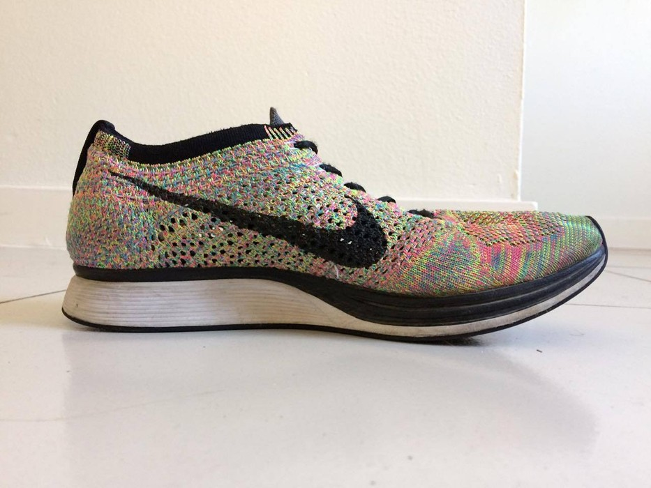 3835cf37ca15 Nike Flyknit Racer Multicolor 1.0 Size 8.5 - Low-Top Sneakers for ...