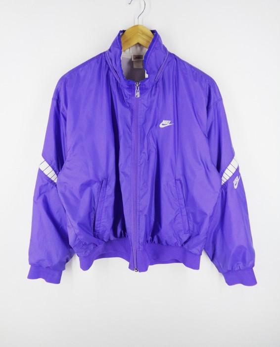 6ac8bd31df8b Nike Nike Windbreaker Vintage Nike Jacket Vintage 90s Nike Neon Purple  Windbreaker Vintage Made In Japan