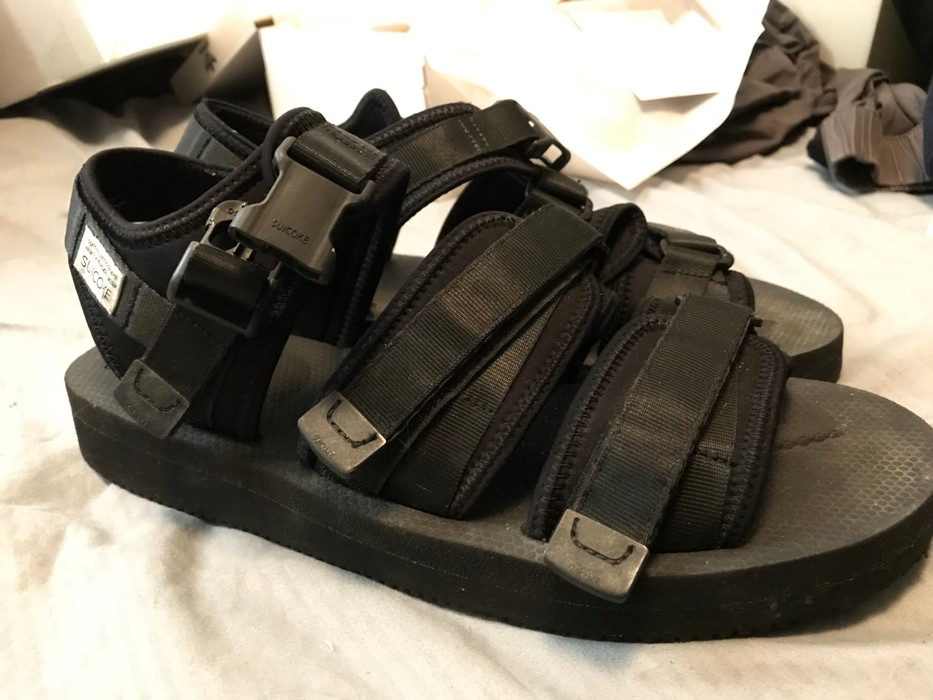 96a206e17a2 Suicoke GGA-V Black Size 11 - Sandals for Sale - Grailed