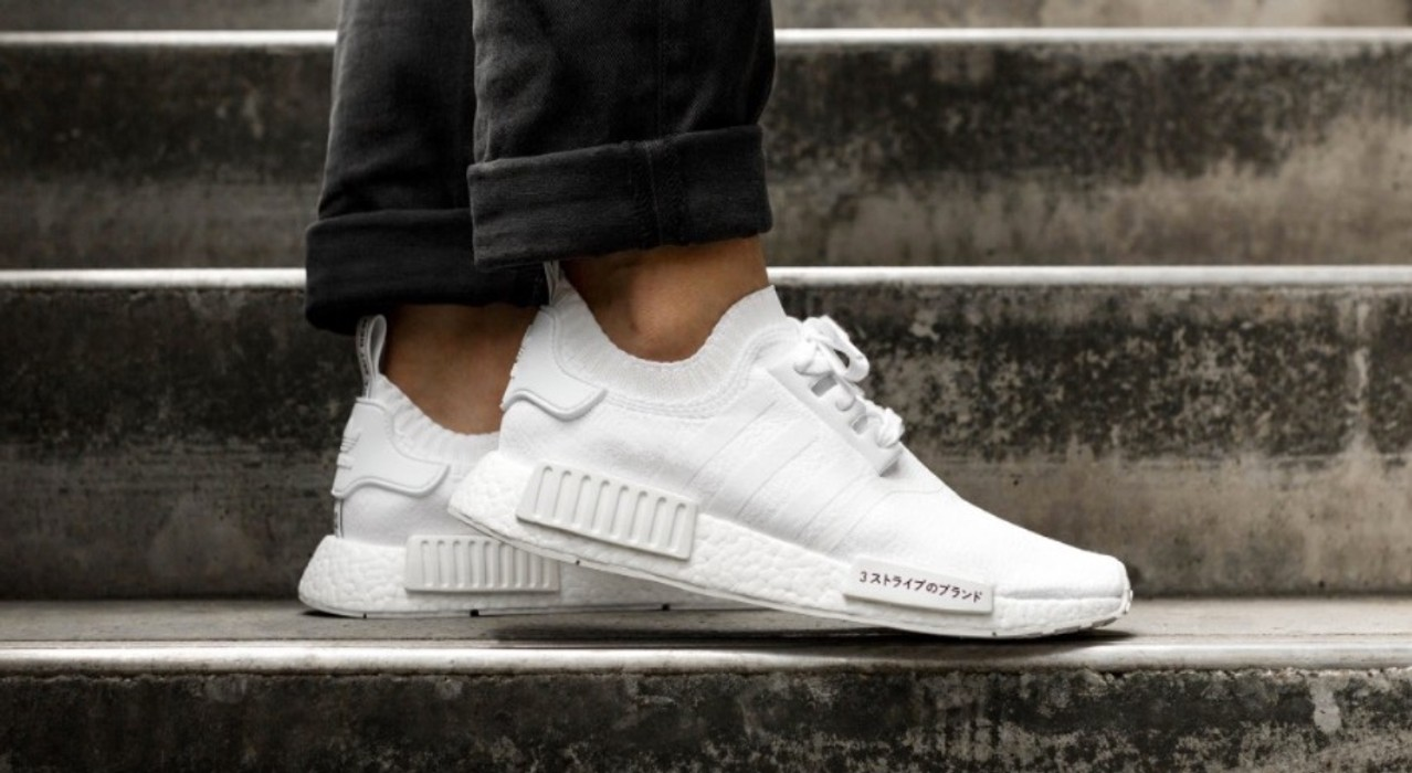 9a78a44aa Adidas NMD R1 Japan Triple White Size 6.5 - Low-Top Sneakers for .