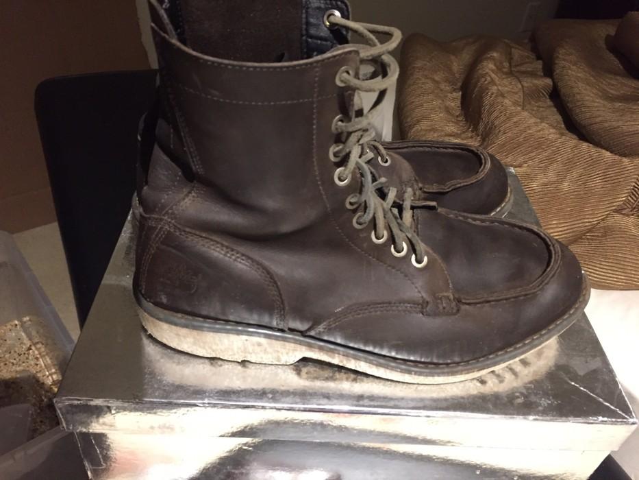 64aa14a81e6c Timberland City Escape Earthkeeper Grey Leather Moc Toe Size US 9.5   EU  42-43