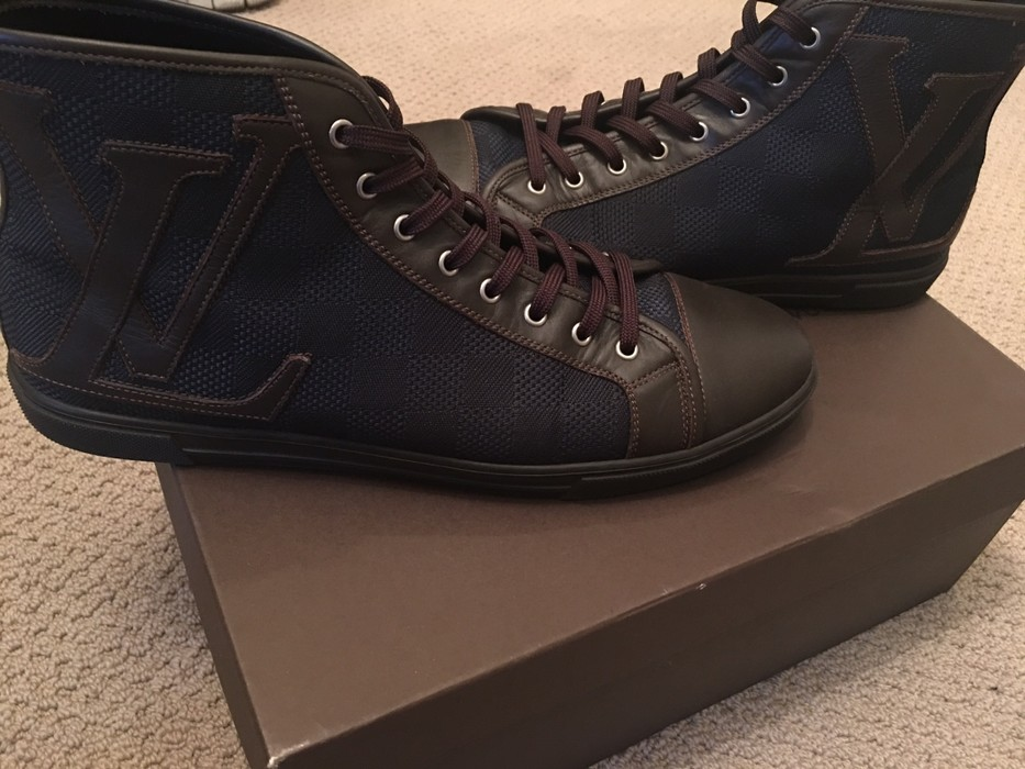 518717150072 Louis Vuitton Punchy Sneaker Boot Size 9 - Low-Top Sneakers for Sale ...