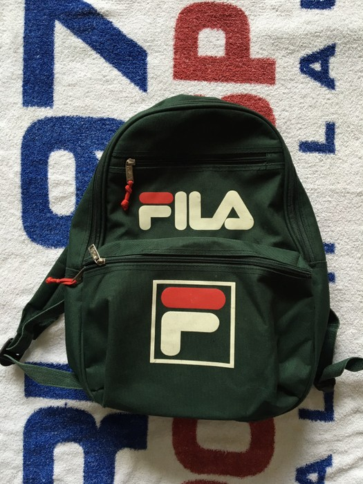 Vintage Vintage Fila Backpack Size one size - Bags   Luggage for ...