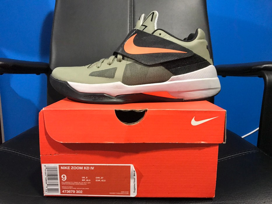 check out b4177 5bcdf Nike. Nike KD IV