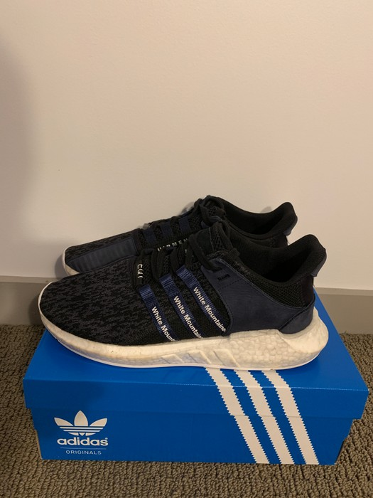 timeless design f661b 1a94a Adidas adidas EQT Support Future White Mountaineering Navy Size US 10  EU  43 - 1