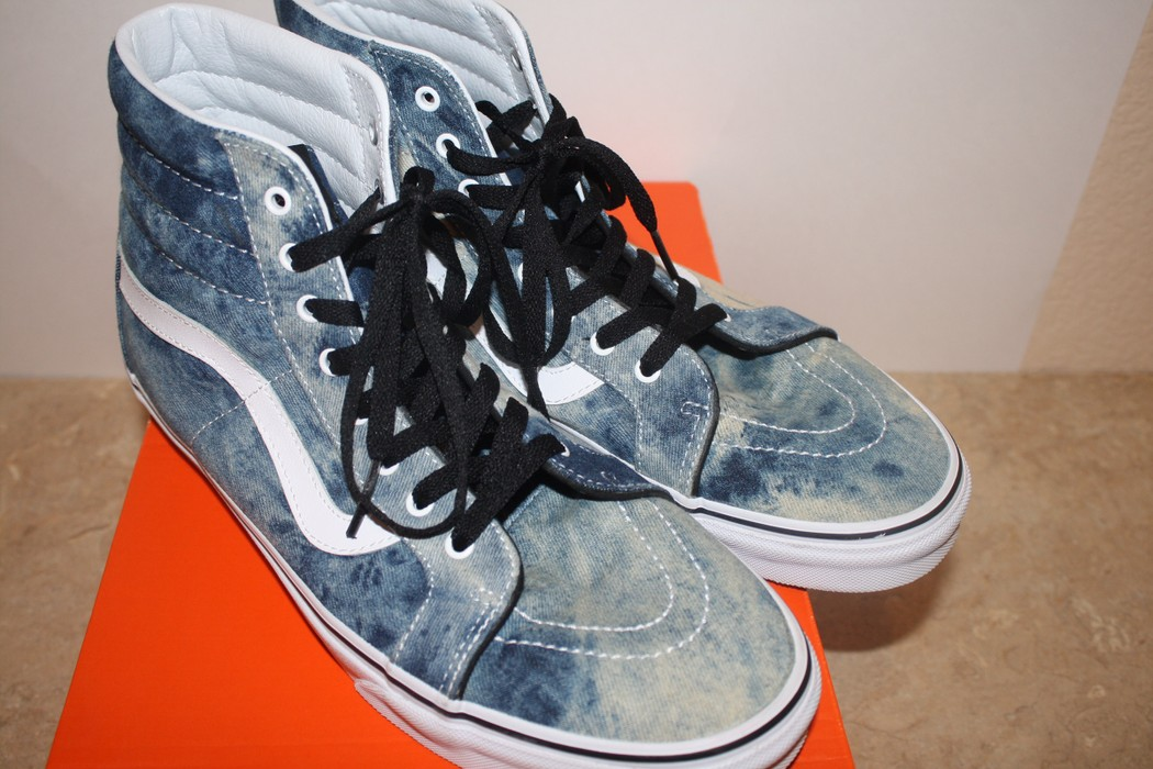 8afc57a266 Vans Vans Sk8 Hi Acid Denim Size 12 - Hi-Top Sneakers for Sale - Grailed