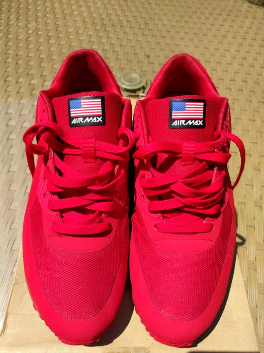 d9974dd0fdb Nike Air max 90 hyperfuse independence day red Size 10 - Low-Top ...