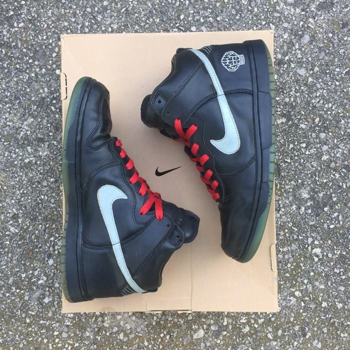 4087a708f7473 Nike FINAL DROP - 2003 N.E.R.D.   Pharrell Nike Dunk High Premium Size US  8.5