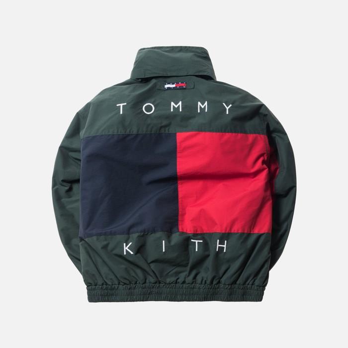 b2d7eb8a126 Tommy Hilfiger KITH X TOMMY HILFIGER REVERSIBLE COLOR BLOCK JACKET FOREST  LARGE Size US L