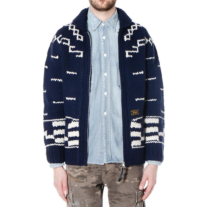 11e7cd85b5a Wtaps Cowichan Sweater Size m - Sweaters   Knitwear for Sale - Grailed