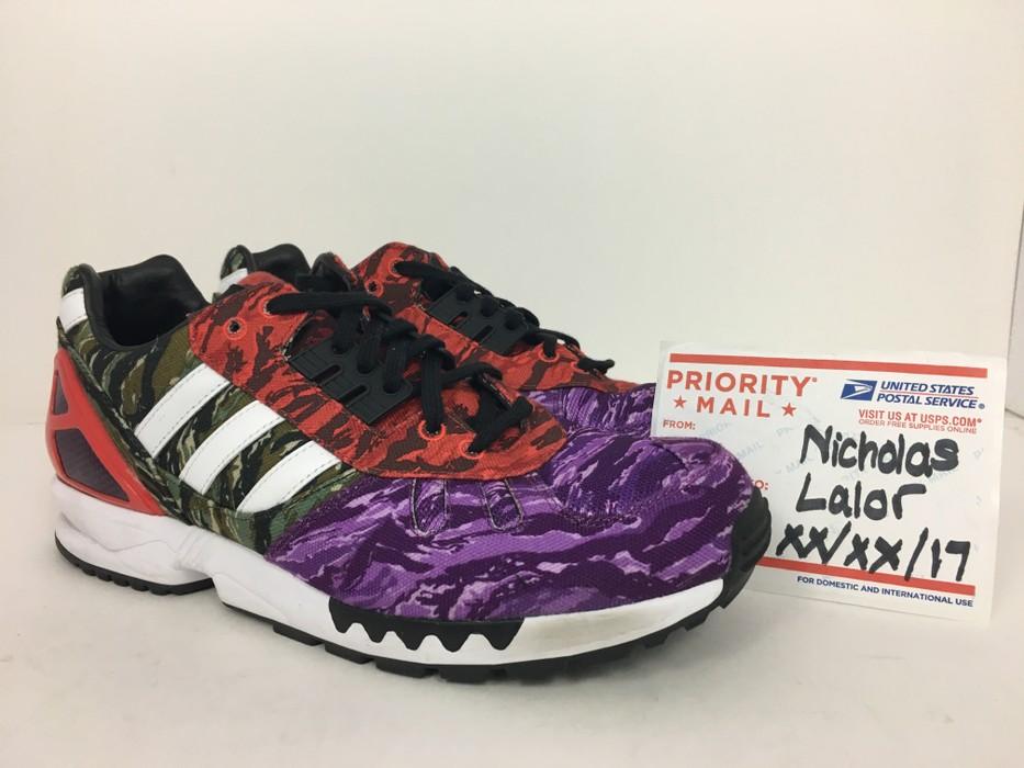 27e202278 Adidas Adidas ZX 7000 BLVCK SCVLE Camo Size 9.5 - Hi-Top Sneakers ...