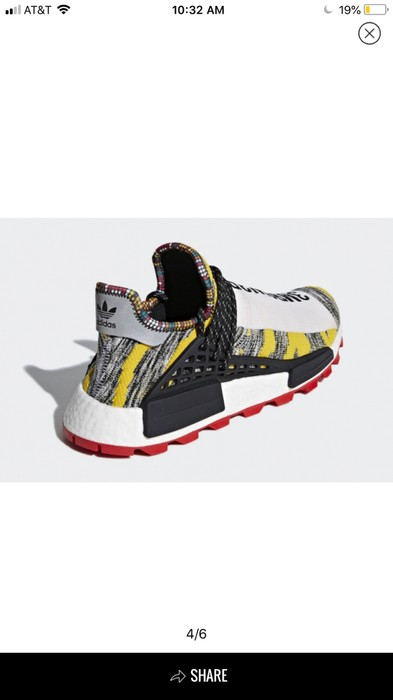 c71bcd55b4567 Adidas Adidas Pharrell Solar Pack HU Human Race NMD Size US 12   EU 45 -