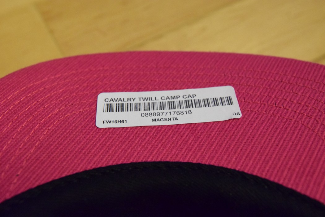404ef1fec7f Supreme Supreme Box logo 5-Panel Camp cap Magenta Size one size ...