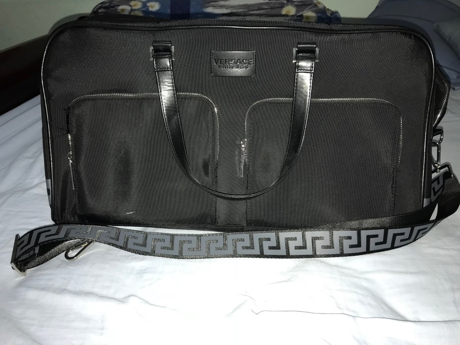 e35e68ed5a Versace Versace Parfums Duffle Bag Size one size - Bags   Luggage ...