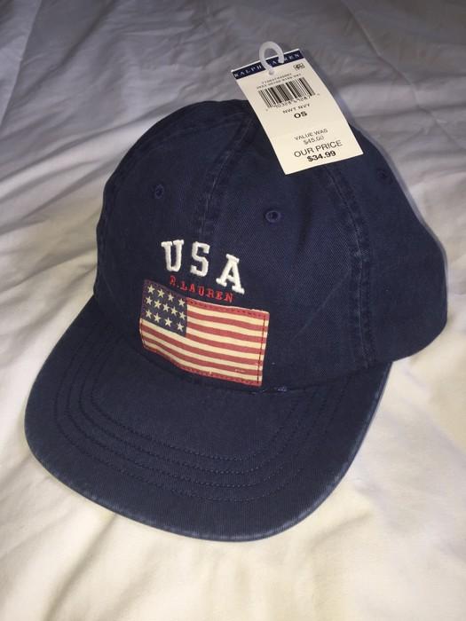 999fc40de8469 Polo Ralph Lauren NWT Polo Flag Hat Size one size - Hats for Sale ...