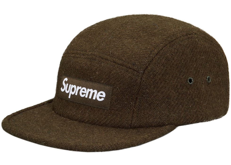 01b0a613ec4 Supreme Featherweight Wool Camp Cap Olive Size one size - Hats for ...