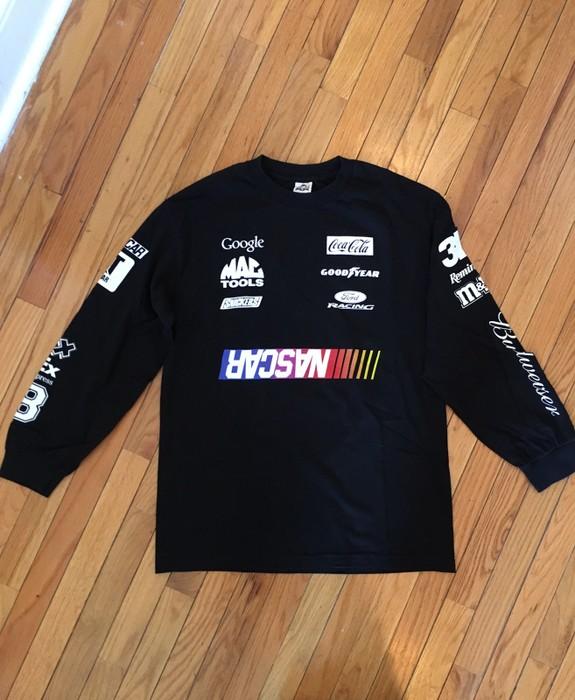 657df8cb1a6 Heron Preston. Long Sleeve Multi Logo Tee NASCAR Home Depot. Size  US L ...