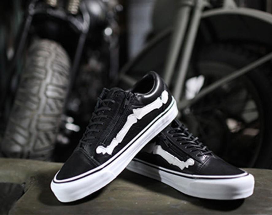 6cfa8ea07c Vans BLENDS X VANS VAULT OG STYLE 36 LX BONES BLACK Size 9.5 - Low ...