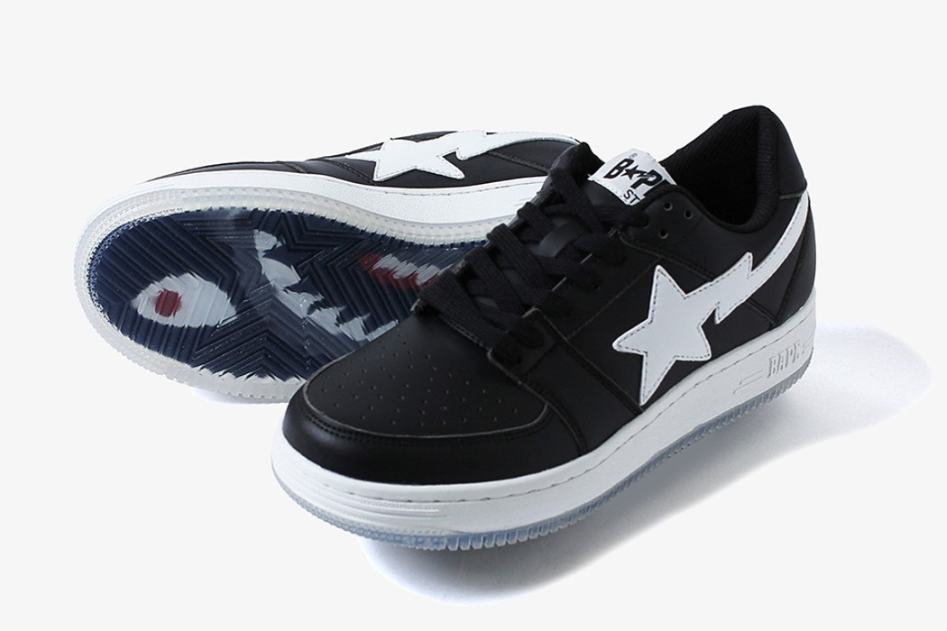 0470504ae0c3 Bape Bapesta Mid Shark-Sole (Black) (US 11) A Bathing Ape Bape Size ...