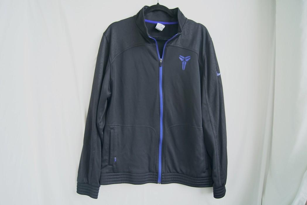 ebe7cb0e3744 Nike NIKE KOBE Bryant Therma-Fit Track Jacket Sz XL Mamba Warm Up Black  Purple