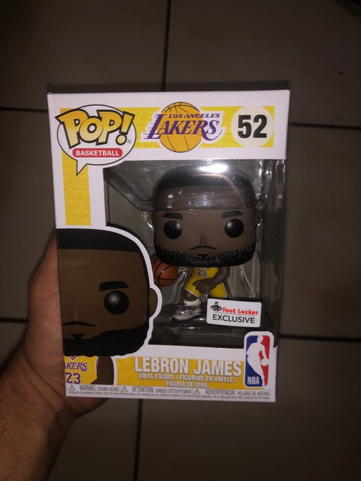 5c8b8d5b38a7 Funko Funko POP LA Lakers LeBron James Footlocker Exclusive In hand read to  ship  52