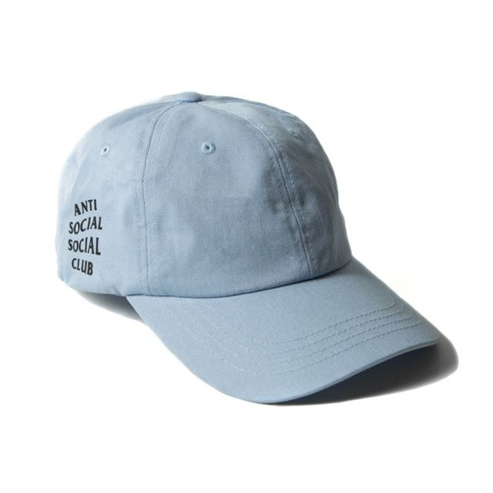 45bd9d421786 Antisocial Social Club ASSC Hat Cap - Baby Blue Size one size - Hats ...
