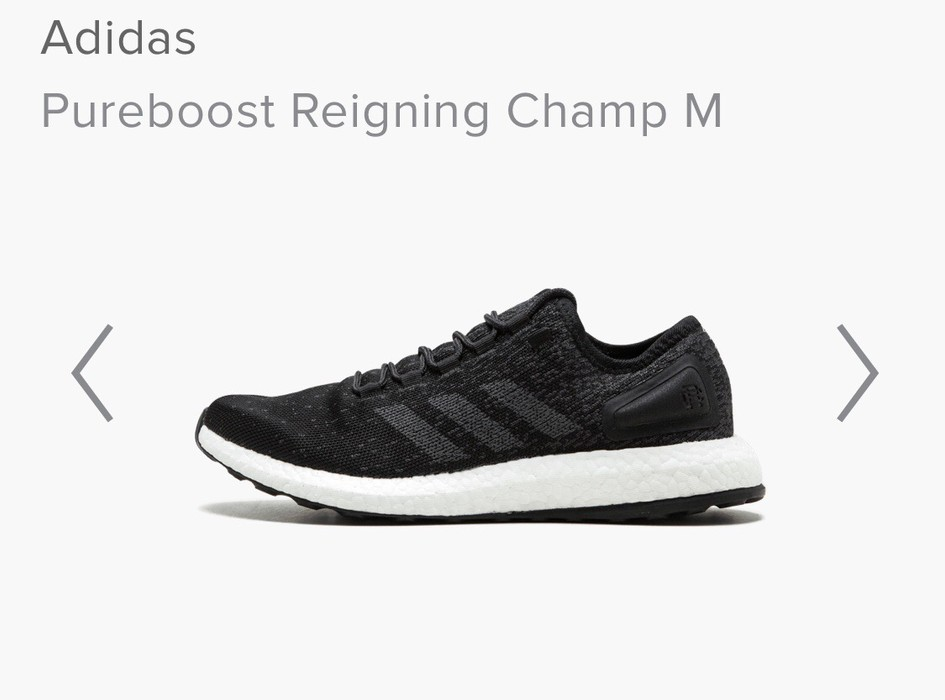 ce67f349c97c9 Adidas Adidas   Reigning Champ Pure Boost Size 9.5 - Low-Top ...
