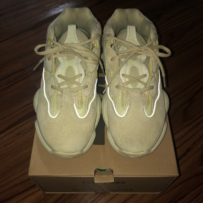 """05cb2a276 Yeezy Boost Yeezy 500 """"Super Moon Yellow"""" Size 8 - Low-Top Sneakers ..."""