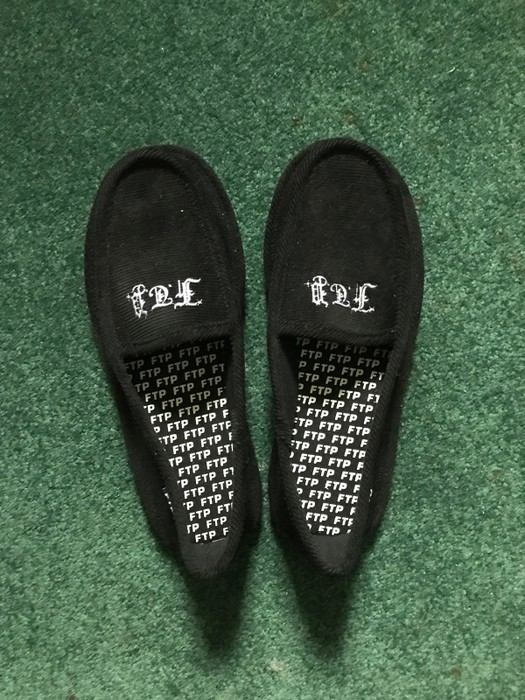 160e87661dfb Fuck The Population FTP House Slippers Size 8 - Slip Ons for Sale ...