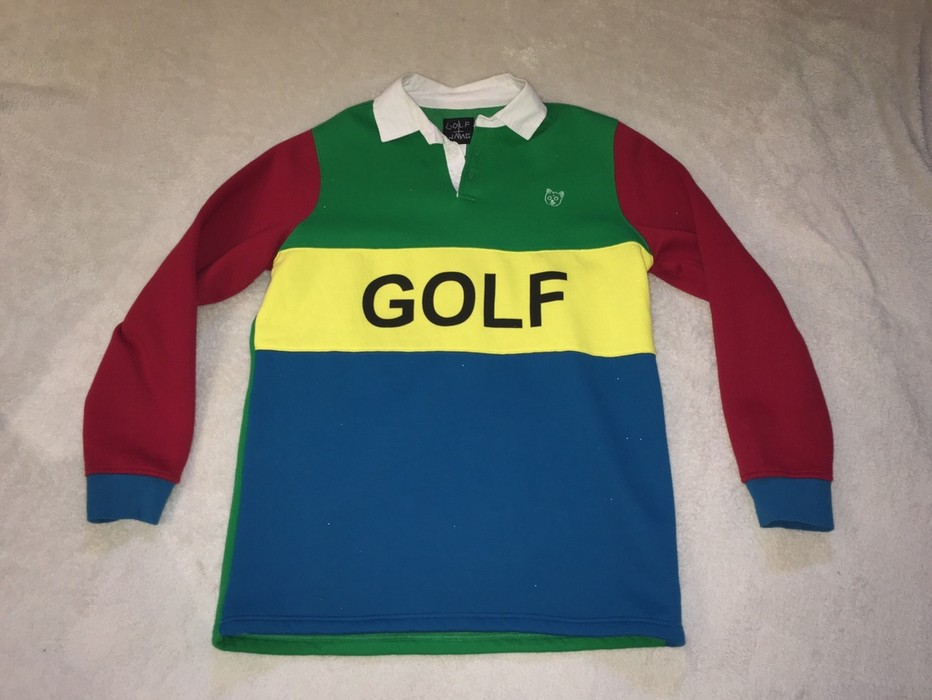 cafbb454a14273 Golf Wang Golf Wang Rugby Shirt Size l - Sweatshirts   Hoodies for ...