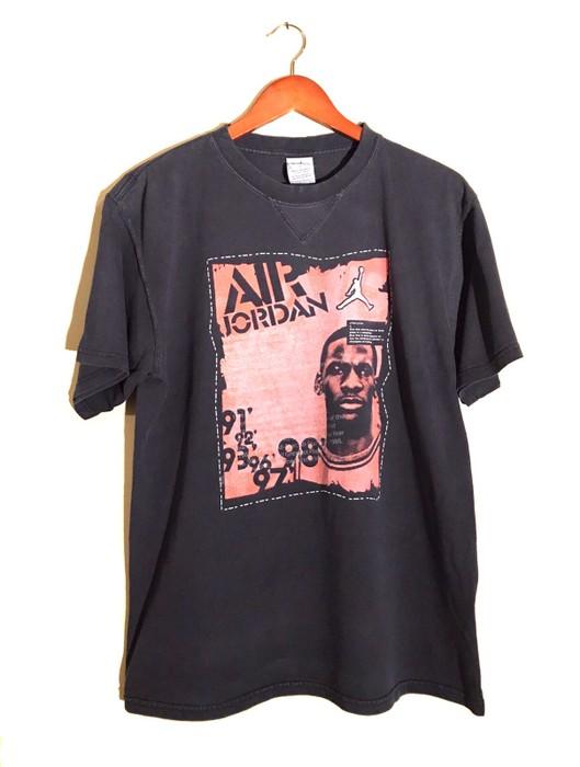 4d235a4b99dc Nike Vintage 90s Nike Air Jordan Black T-Shirt Retro OG Air Max Rare Bred