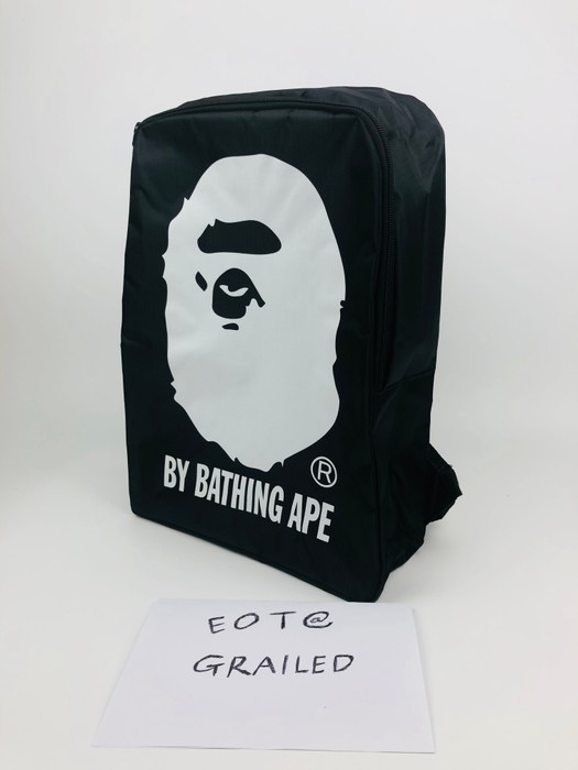 55226b3a8b5d Bape A Bathing Ape Bape X cBlack Backpack E-mook exclusive Size ONE SIZE