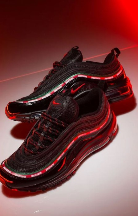 85b760219493 Nike UNDEFEATED X NIKE AIR MAX 97 OG - BLACK SPEED RED GORGE GREEN ...