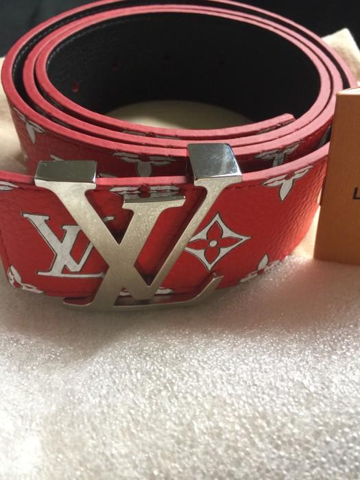 84dfdb96a9c4 Supreme Supreme x Louis Vuitton belt Size 40 - Belts for Sale - Grailed
