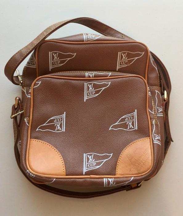 1d4f8e5acf97 Louis Vuitton. Vintage Bootleg LV Cup Small Crossbody Side Messenger Bag