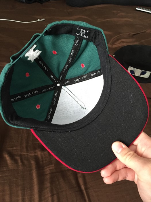 ace4a5030554a4 Golf Wang Great Wang Green Hat Tyler the Creator Size one size ...