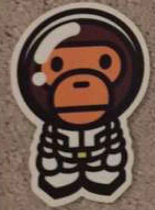 7a6cf665a526 Bape Baby Milo Sticker Size one size - Miscellaneous for Sale - Grailed