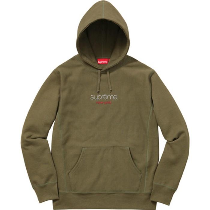 d8fa041e5a31 Supreme Chrome Classic Logo Hoodie Olive Size m - Sweatshirts ...