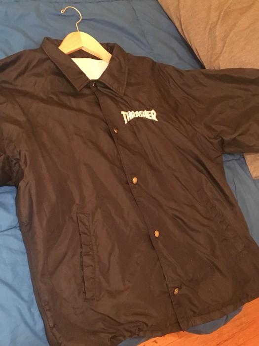 85060484c63d Thrasher VINTAGE Thrasher Jacket From Mid 90 s Size US L   EU 52-54